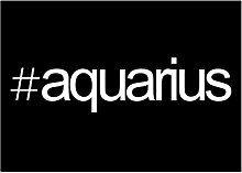 Idakoos Hashtag Aquarius - Sternzeichen -