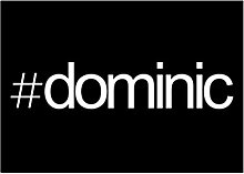 Idakoos Hashtag Dominic - Männliche Namen -
