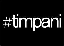 Idakoos Hashtag Timpani - Instrumente - Aufkleber