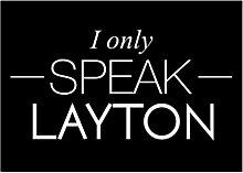 Idakoos I only speak Layton - US Städte -