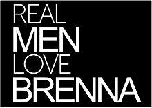 Idakoos Real men love Brenna - Weibliche Namen -