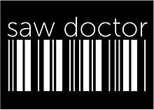 Idakoos Saw Doctor barcode - Berufe - Aufkleber