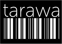 Idakoos Tarawa barcode - Kapitale - Aufkleber