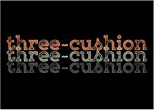 Idakoos Three Cushion repeat retro - Sport -