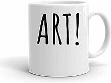 IDcommerce Art! Minimalistic Artsy Design Weißer