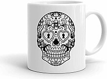 IDcommerce Beautiful Detailed Sugar Skull Design