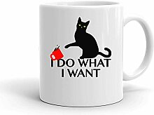 IDcommerce I Do What I Want Rebellious Cat Design
