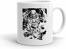 IDcommerce Skeletor Creepy Laugh Weißer