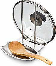 Idea High-Silber: Kreativer Edelstahl-Topfdeckel