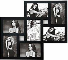 Ideal Jesi Holz Bilderrahmen für 7 Fotos in 10x15