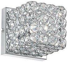 Ideal Lux - Kristall-Wandleuchte 1xG9/28W/230V