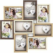 Ideal Montreaux Bilderrahmen für 8 Fotos in 10x15