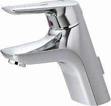 Ideal Standard A5650AA Waschtisch Armatur CeraMix Blue Niederdruck, chrom