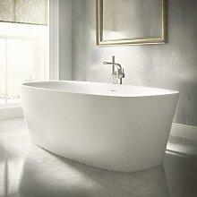 Ideal Standard Dea Freistehende Oval-Badewanne,