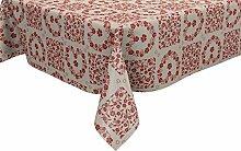 Ideal Textiles PVC-Tischdecke mit Blumen- und