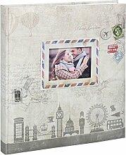 Ideal Travel Fotoalbum in 29x32 cm 60 Weiße