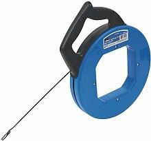 Ideal Tuff-Grip Pro Fisch tape carbon-blued Stahl 18m (60ft)
