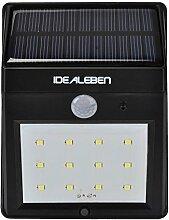 IDEALEBEN 12 LED Kabellose Außenleuchte /
