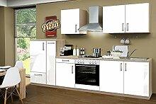 idealShopping Küchenblock mit Ceranfeld Premium