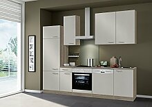 idealShopping Küchenblock ohne Elektrogeräte Arta in sahara 270 cm brei