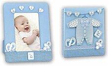 Idealtrend Baby Geschenk Set Bilderrahmen 10x15