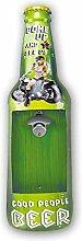 Idealtrend Beer Blechschild 18x61x5 cm Retro