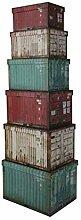Idealtrend Container Box 6er Set Karton