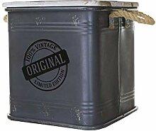 Idealtrend Metall Behälter 31x31,5 cm Deko 25
