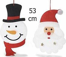 Ideapiu Deko Weihnachtsbaum aus Polyester zum