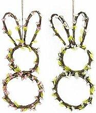 Idee Girlanden \ Mitteldecke Ostern SPRING, Girlanden, Mitteldecke Frühling Zwei Spring, Girlanden, Dekoration zum Aufhängen, Girlande, Oster