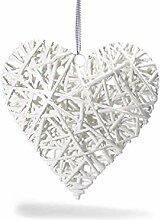 Idee Valentinstag Herz, Shabby Chic Shop, Dekoration aus Holz