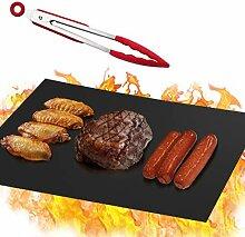 Idefair Grillmatte, Set mit 5 robusten Grillmatten