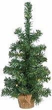 Idena 30135 - Deko Weihnachtsbaum mit 10 LED, 45