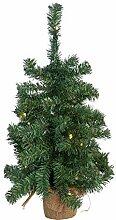 Idena 30136 - Deko Weihnachtsbaum mit 20 LED, 60