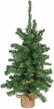 Idena 30137 - Deko Weihnachtsbaum mit 30 LED, 90