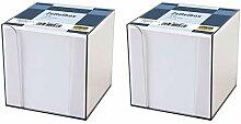 Idena 311069 - Zettelbox, 9 x 9 x 10 cm, 700 Blatt