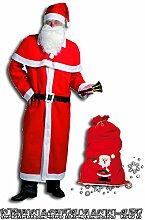 Idena 8580196 Weihnachtsmannsack/Nikolaussack aus