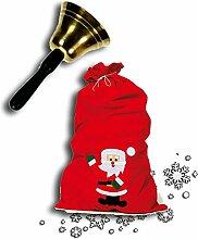 Idena 8580196 Weihnachtsmannsack / Nikolaussack