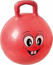 Idena Sprungball Hüpfball Happy Face, 45-50 cm