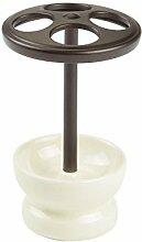 iDesign 02518EU crème Keramik-Zahnbürstenhalter,