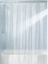 iDesign 21999EU Rain Duschvorhang, 180 x 200 cm,