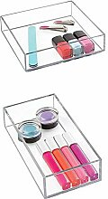 iDesign Aufbewahrungsbox für Bad, Küche oder