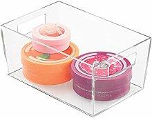 iDesign Clarity Box, kleine Badablage aus