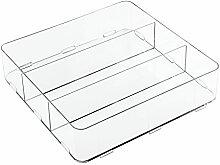 iDesign Clarity Schubladen Organizer, geräumige
