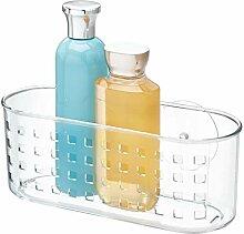 iDesign Duschablage mit Saugnapf, kleiner