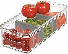 iDesign Großer Mülleimer für Kühlschrank und
