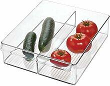iDesign Kühlschrank-/Gefrierschrank-Mülleimer,