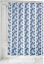 iDesign Moroccan Duschvorhang aus Stoff |