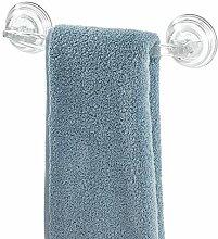 iDesign Power Lock Handtuchhalter mit Saugnäpfen