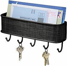 iDesign Schlüsselbrett mit Ablage, kleine